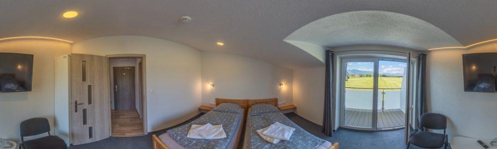 Hotel virtualna prehliadka